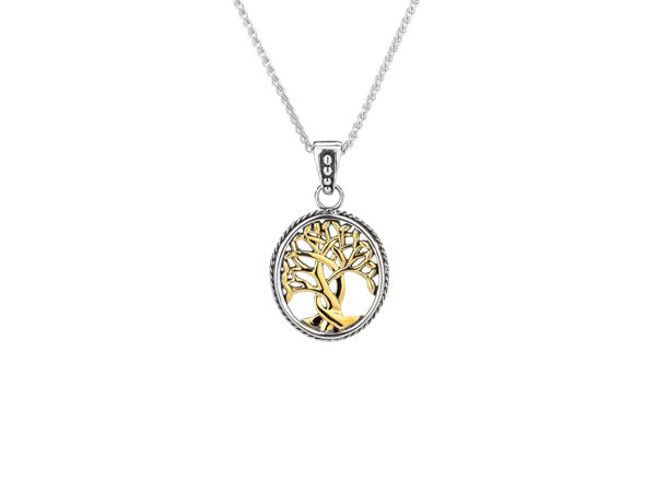 Picture of YELLOW TREE OF LIFE SMALL PENDANT