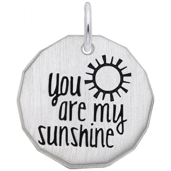 Picture of YOU ARE MY SUNSHINE CHARM