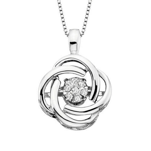 Picture of Diamond Knot Dancer Necklace