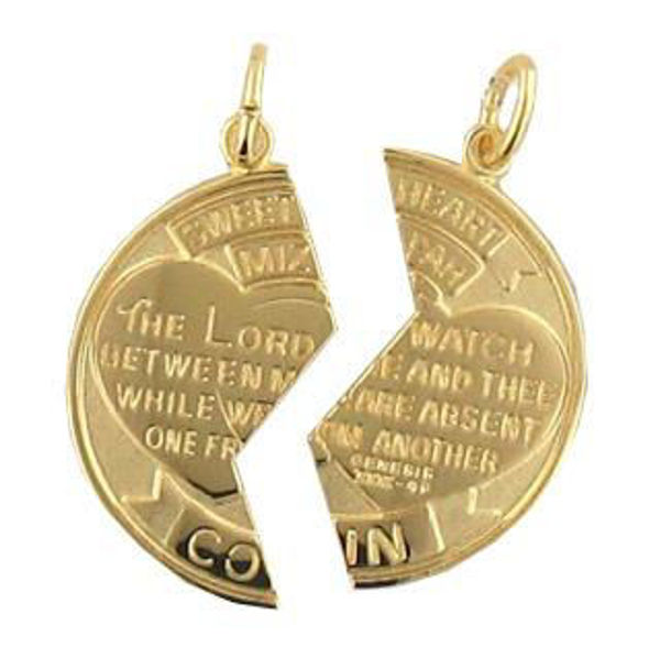"""Picture of Mizpah Charms with an 18"""" Chains"""
