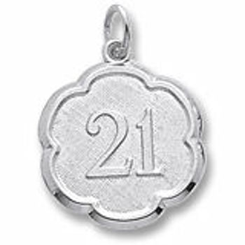 Picture of NUMBER 21 CHARM