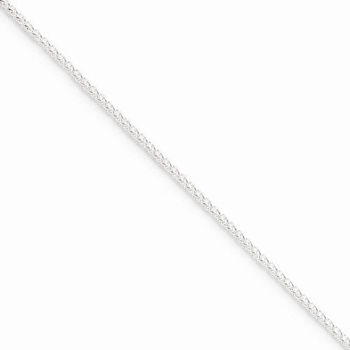 """Picture of Sterling Silver 20"""" Round Spiga Chain"""