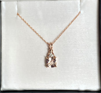 Picture of Stacy's Morganite Necklace