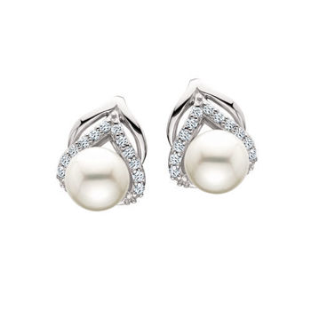 Picture of Swarovski & Pearl Earrings