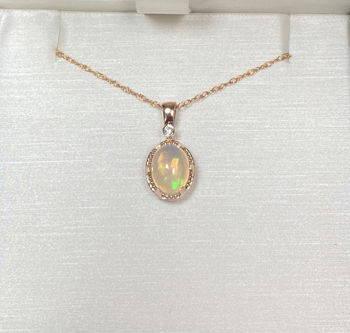 Picture of Ethiopian Opal Fashion Necklace