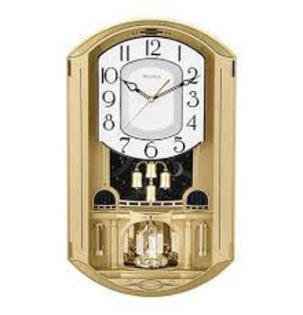Picture of GOLDEN MUSIC CLOCK BY BULOVA
