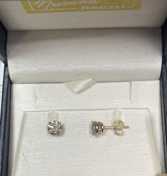 Picture of 1cttw Diamond Stud Earrings