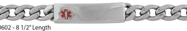 Picture of Mens Medical Alert Bracelet