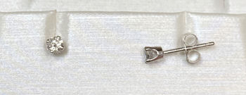Picture of 1/4cttw Diamond Stud Earrings