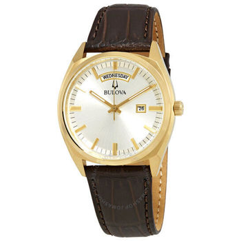 Picture of Bulova Men's Leather Strap Watch