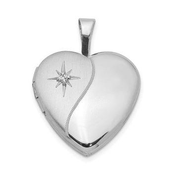 Picture of Diamond Heart Locket