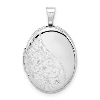 Picture of Oval Swirls Locket