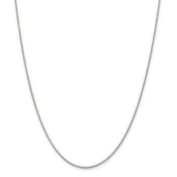 """Picture of Sterling Silver Spiga Chain 30"""" Long"""