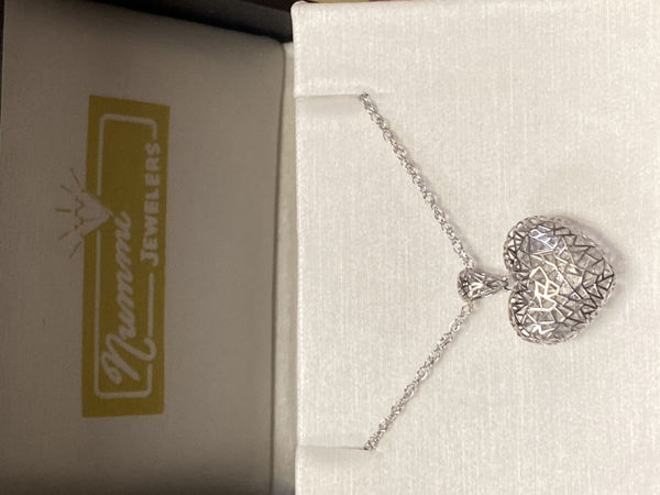 Picture of 3D Heart Necklace