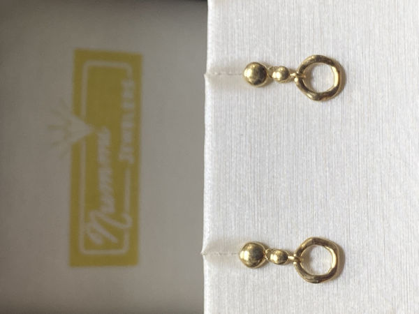 Picture of Circle Dangle Earrings