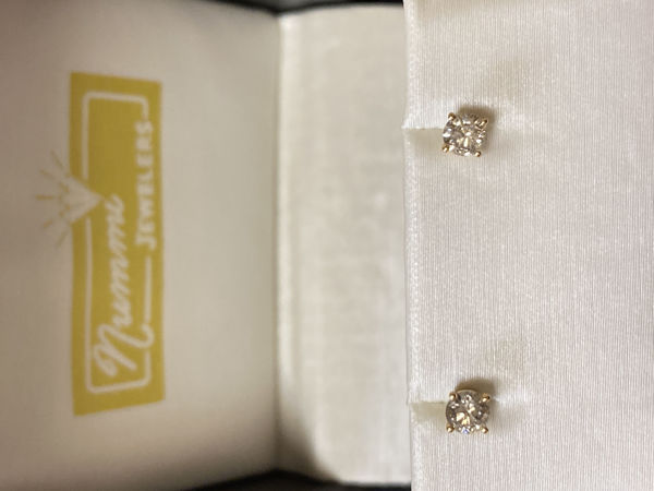Picture of 1/3cttw Diamond Stud Earrings