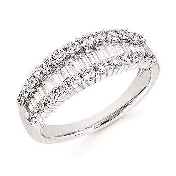 Picture of Amelia's Diamond Anniversary Ring