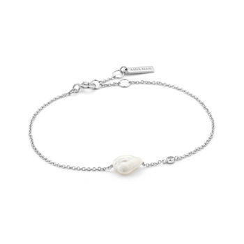 Picture of Silver Pearl Bracelet