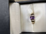 Picture of 80's Revival Diamond and Amethyst Ring