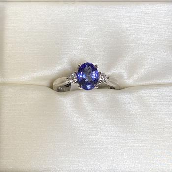Picture of Jessie's Girl Tanzanite Ring