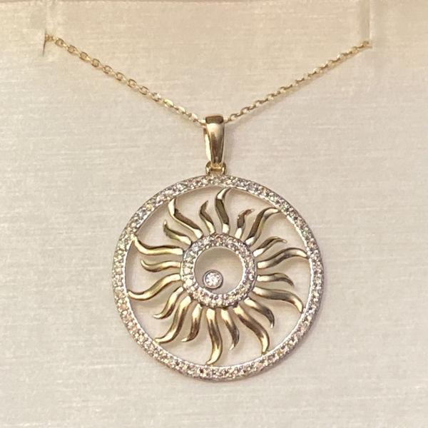 Picture of Brilliant Sun Necklace