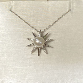 Picture of Pearl Sunburst Necklace