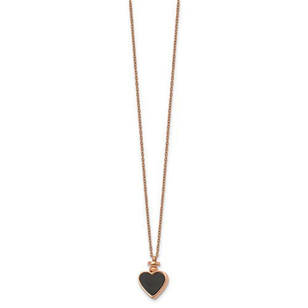 Picture of Day and Night Heart Pendant