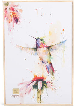 Picture of PEEWEE HUMMINGBIRD WALL ART 8X12