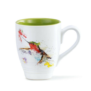Picture of Hummingbird and Flower Mug