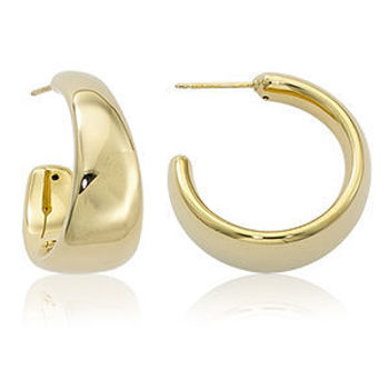 Picture of Tapered Hoop Earrings