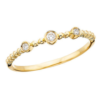Picture of 10k Stackable Ring