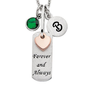 Picture of SS Forever and Always Pendant