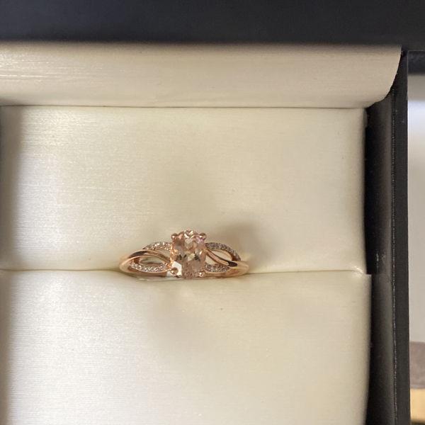 Picture of Christina's Morganite and Diamond Fashion Ring