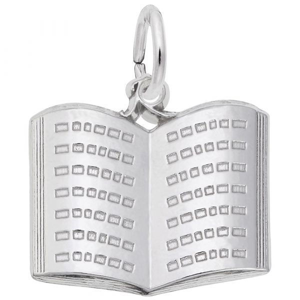 Picture of Book Charm