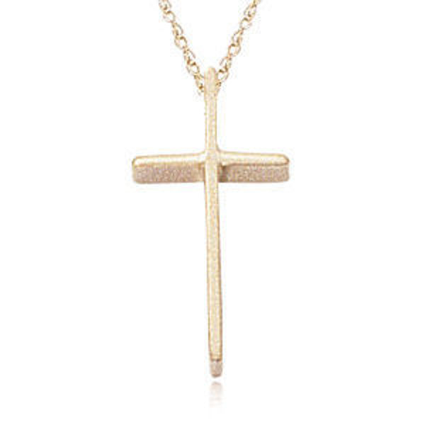 Picture of Swedged 14K Gold Cross