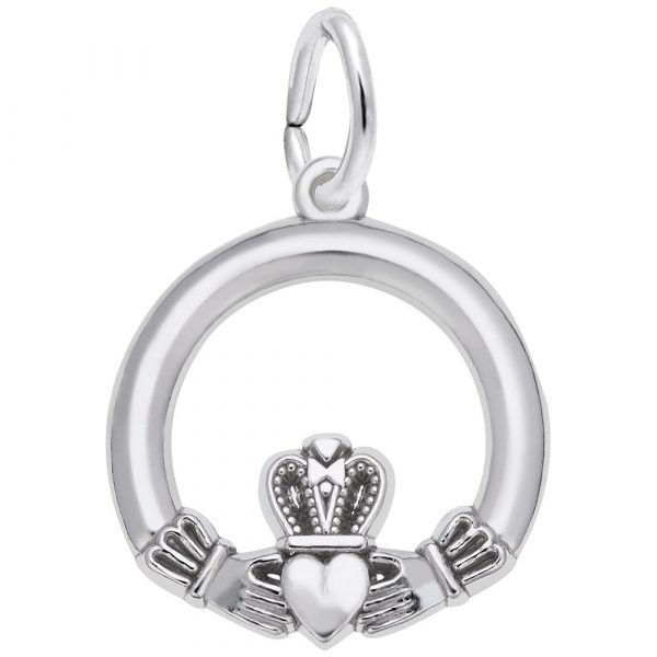 Picture of SILVER CLADDAGH CHARM