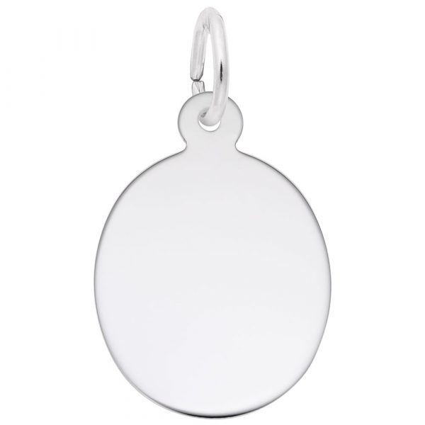 Picture of Oval Disc Charm