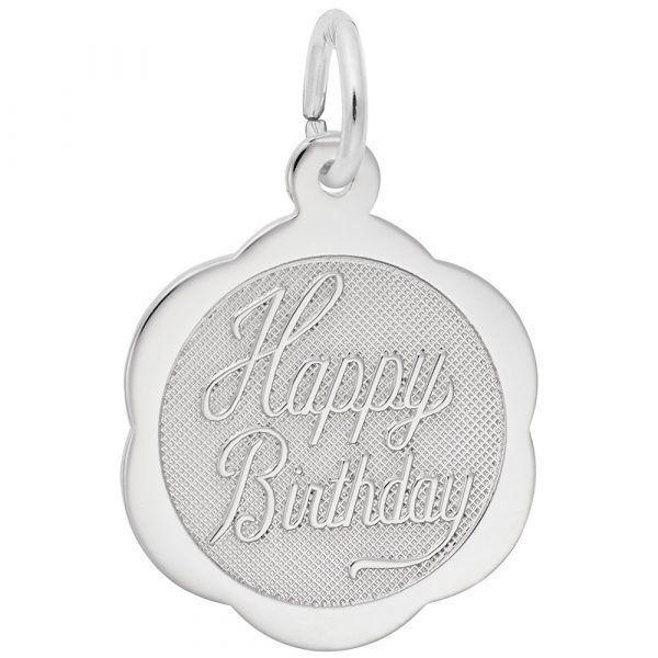 Picture of Happy Birthday Charm